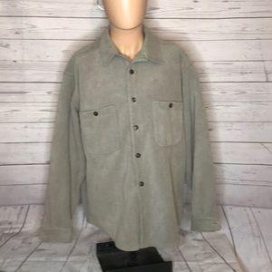 Patagonia winter button down shirt